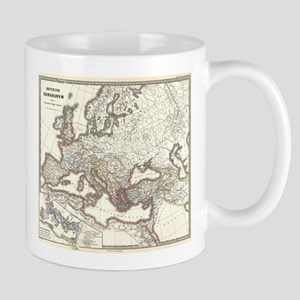 Vintage Map of The Roman Empire (1865) Mugs